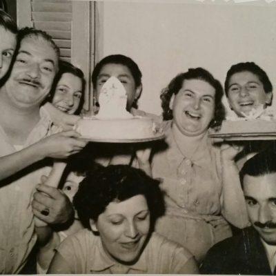 The Mellino's; circa 1949